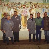 Mitarbeiter der Kooperative Emanuele de Deo