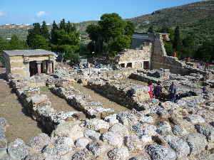 Knossos Ruine 3