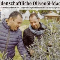 Guiseppe und Giulio von der Kooperative De Deo
